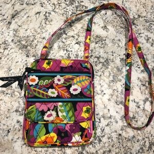 "Vera Bradley Crossbody bag ""mini hipster"""